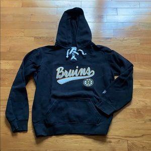 NHL Black Bruins Hoodie